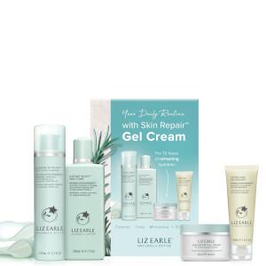 Liz Earle Essentials Skin Repair Kit with Gel Moisturiser (Worth £67.00)
