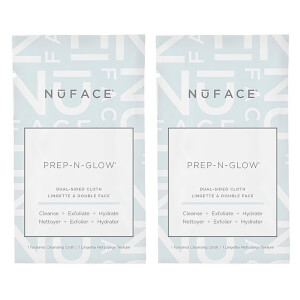 NuFACE Prep-N-Glow Cloths Duo (Worth $80.00)