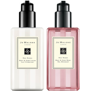 Jo Malone London Red Roses Hand Wash and Lotion Bundle