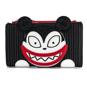 Loungefly Disney The Nightmare Before Christmas Scary Teddy And Undead Duck Bi-Fold Wallet