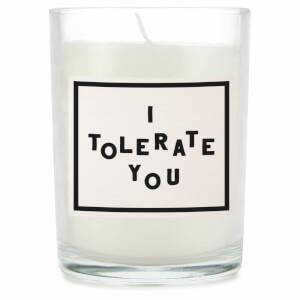 I Tolerate You Candle