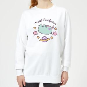Pusheen Pastel Purrfection Women's Sweatshirt - White