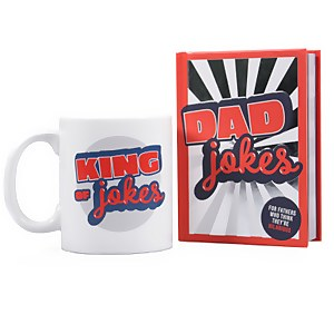 Dad Jokes Book and Mug Set