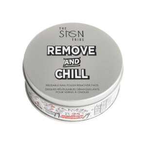 The Sign Tribe Remove and Chill Reusable Nail Polish Eraser Pads