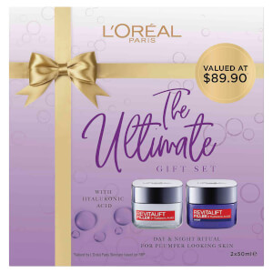 L'Oréal Paris Revitalift Filler Day and Night Cream Gift Set (Worth $90.00)