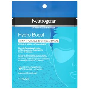 Neutrogena® Hydro Boost 2-IN-1 HYDROGEL TUCH AUGENMASKE
