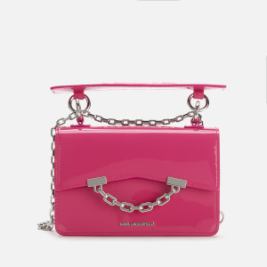 Karl Lagerfeld Women's K/Karl Seven Mini Shoulder Bag - Neon Pink