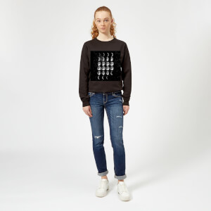 The Motivated Type Moon Cycle Women's Sweatshirt - Black