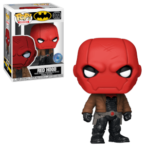 PIAB EXC DC Comics Red Hood Jason Todd Figura Pop! Vinyl