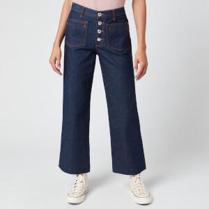 A.P.C. Women's Gloria Jeans - Indigo Delave