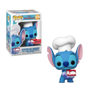 Figura Funko Pop! Exclusivo NYCC20 - Stitch Repostero - Disney: Lilo & Stitch
