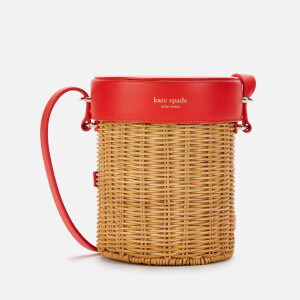 Kate Spade New York Women's Picnic Wicker Cross Body Bag - Natural Multi