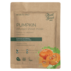 BeautyPro Pumpkin Radiating Sheet Mask 22ml