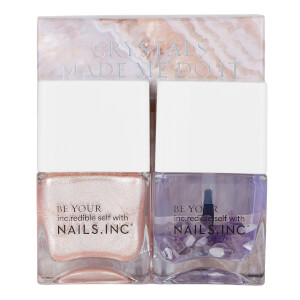 nails inc. Crystals Made me do it Nail Polish Duo 2 x 14ml