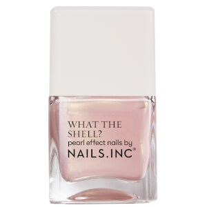 nails inc. What the Shell Shells Aloud Top Coat 14ml