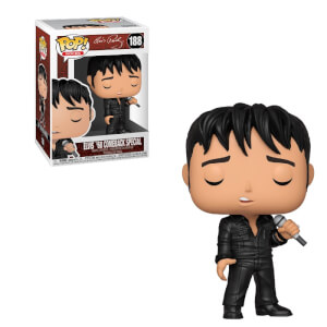 Pop Rocks 1968 Comeback Special Elvis Pop! Vinyl Figure