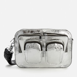 Núnoo Women's Ellie Metallic Cool Bag - Silver