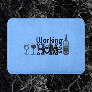 Working From Home Bath Mat