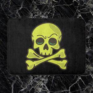 Skater Skull Bath Mat