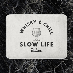 Whisky And Chill Bath Mat