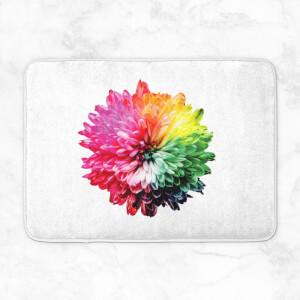 Fluro Flower Bath Mat
