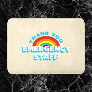 Thank You Emergency Staff Bath Mat