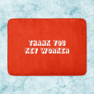 Thank You Key Worker Bath Mat