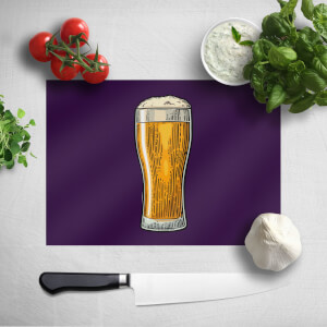 Beer Chopping Board
