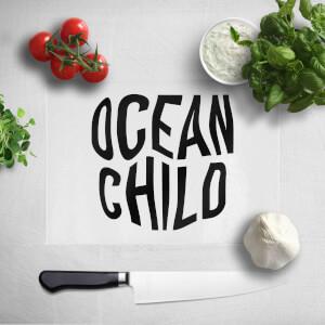 Ocean Child Chopping Board