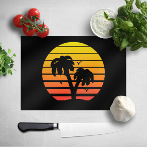 Summer Sunset Chopping Board