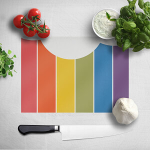 Rainbow Cloud Chopping Board