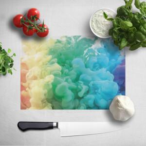 Rainbow Smoke Chopping Board