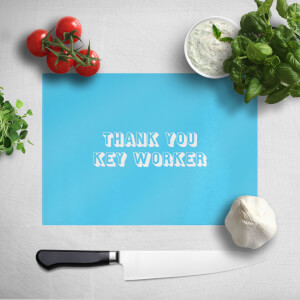 Thank You Key Worker Chopping Board