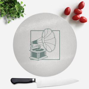 Music Player Round Chopping Board