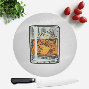 Whisky Round Chopping Board