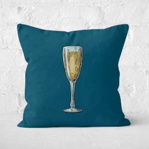 Champagne Square Cushion