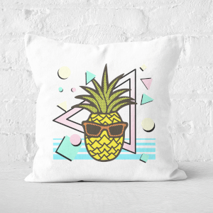 Summer Pineapple Square Cushion