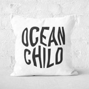 Ocean Child Square Cushion