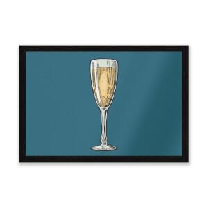 Champagne Entrance Mat