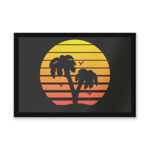 Summer Sunset Entrance Mat
