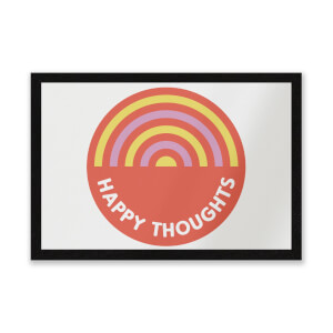 Happy Thoughts Entrance Mat