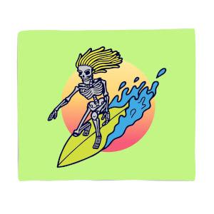 Surfs Up! Fleece Blanket