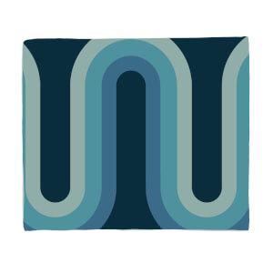 Blue Groove Fleece Blanket