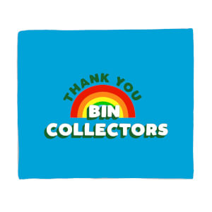 Thank You Bin Collectors Fleece Blanket