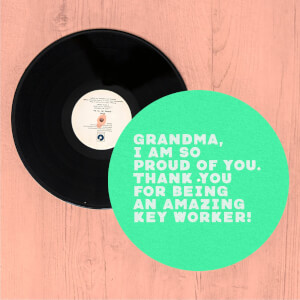 Grandma, I Am So Proud Of You. Slip Mat