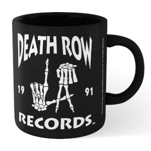 Death Row Records Mug Shot Mug - Wit/Rood