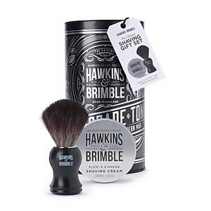 Hawkins & Brimble Shaving Gift Set Silver (Worth £30.90)
