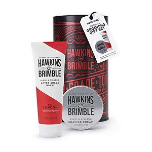 Hawkins & Brimble Grooming Gift Set Red (Worth £19.90)