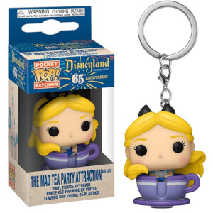 Disney 65 Alice in Teacup Funko Pop! Keychain