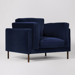 Swoon Munich Velvet Armchair